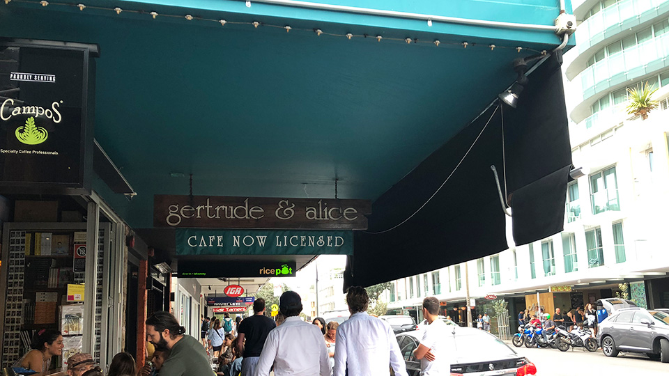 Gertrude and Alice Bookstore Bondi Beach
