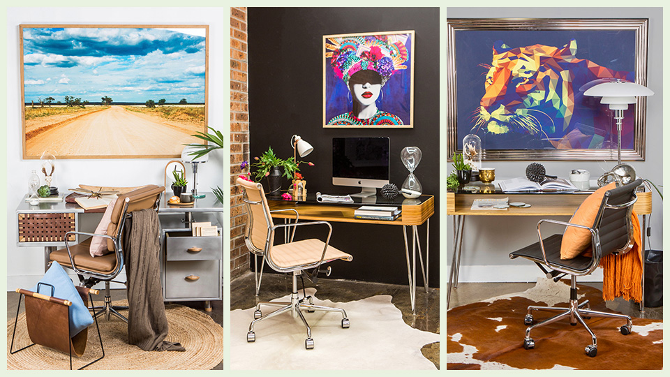 How to decorate your home office, with tips from a stylist