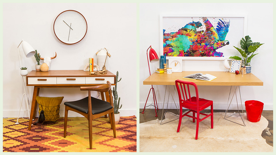 How To Decorate Your Home Office With Tips From A Stylist