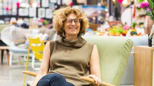 Deborah Drexler, co-founder of furniture brand Matt Blatt