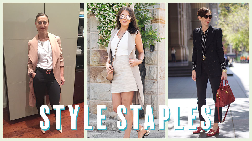Stylists' tips: Fashion staples every working woman should own