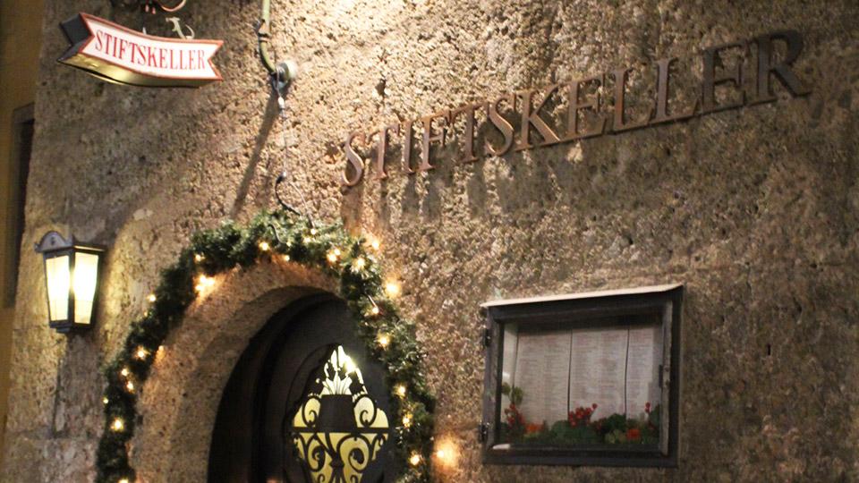 Stiftskeller restaurant in Innsbruck Austria