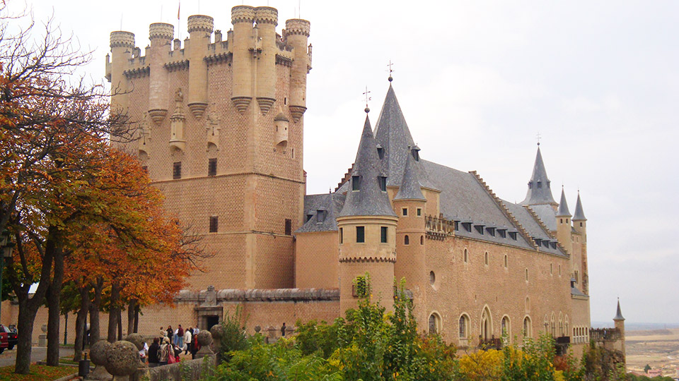 Alcazar in Segovia, Spain