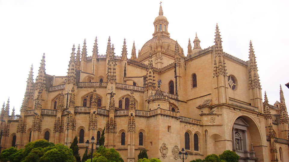 Cathedral in Segovia, Spain