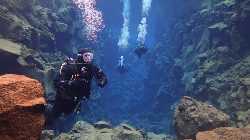 Dive between continental plates in Silfra, Iceland: A guide to diving in the clearest water on earth