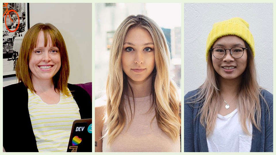 This is what a female coder looks like