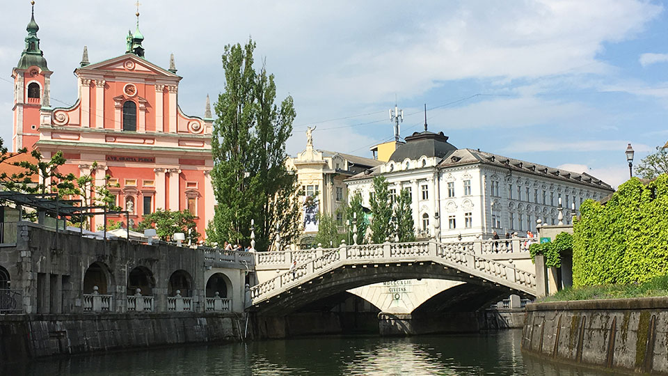 Where to stay in Ljubljana Slovenia