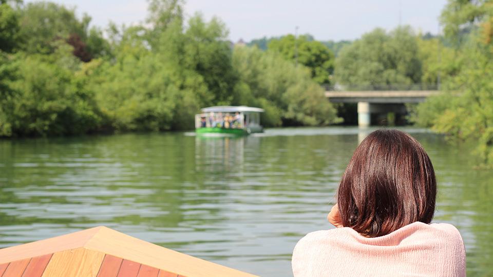 Boat cruise on Ljubljanica River