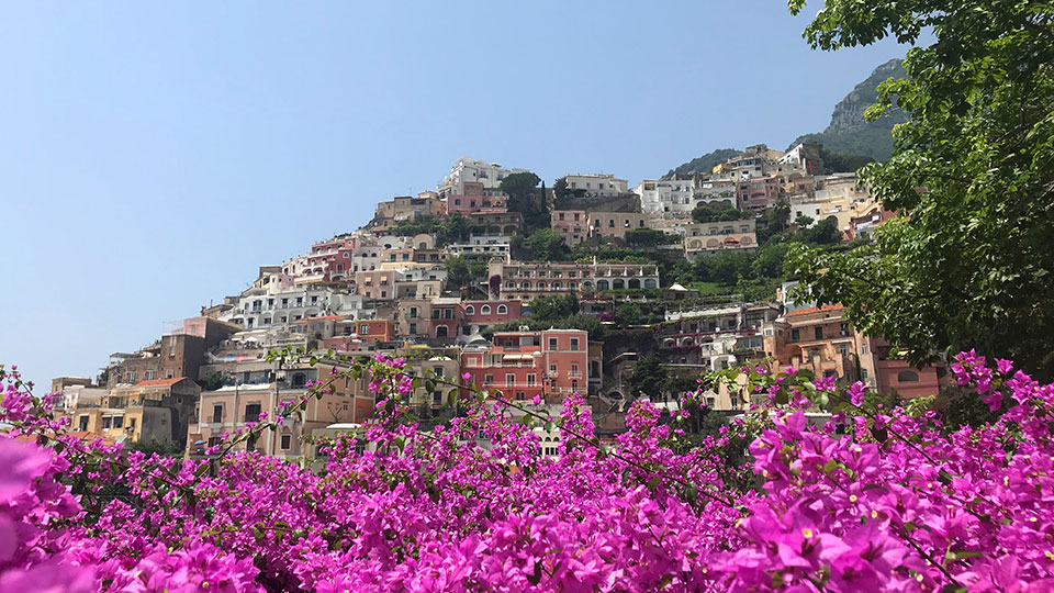 Getting to Positano