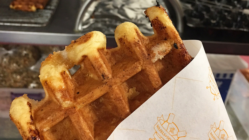 A food lovers' guide to Brooklyn, New York City - Wafels and Dinges