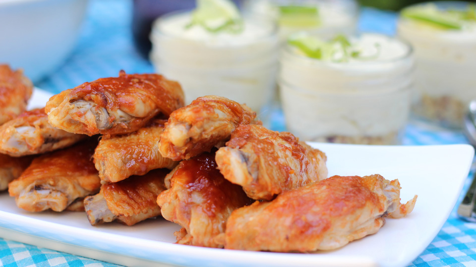 Spiced chicken wings