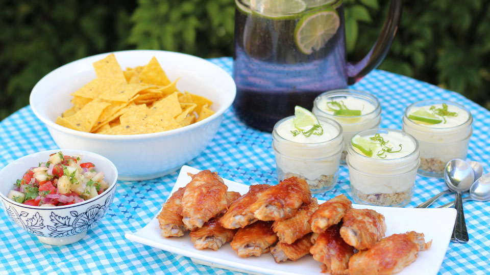3 simple recipes for summer entertaining at home
