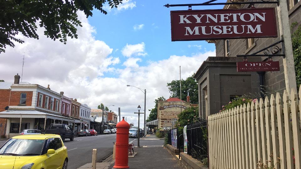 Travel guide to Kyneton Victoria