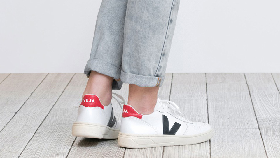 Veja sneakers use sustainable fabrics