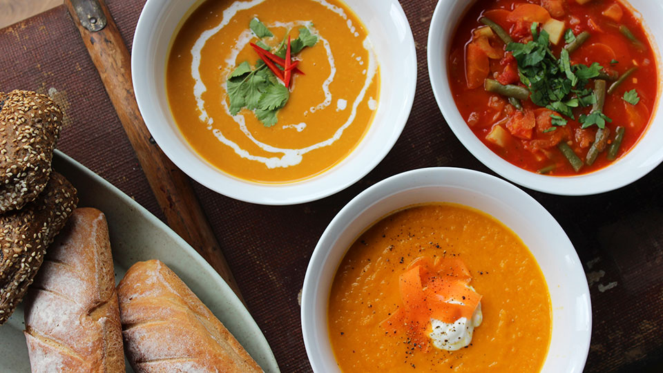 3 warming soups for the cold weather
