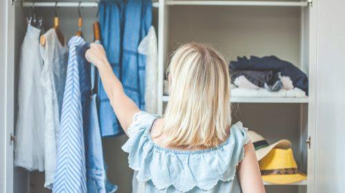 5 genius storage hacks for off-season clothes