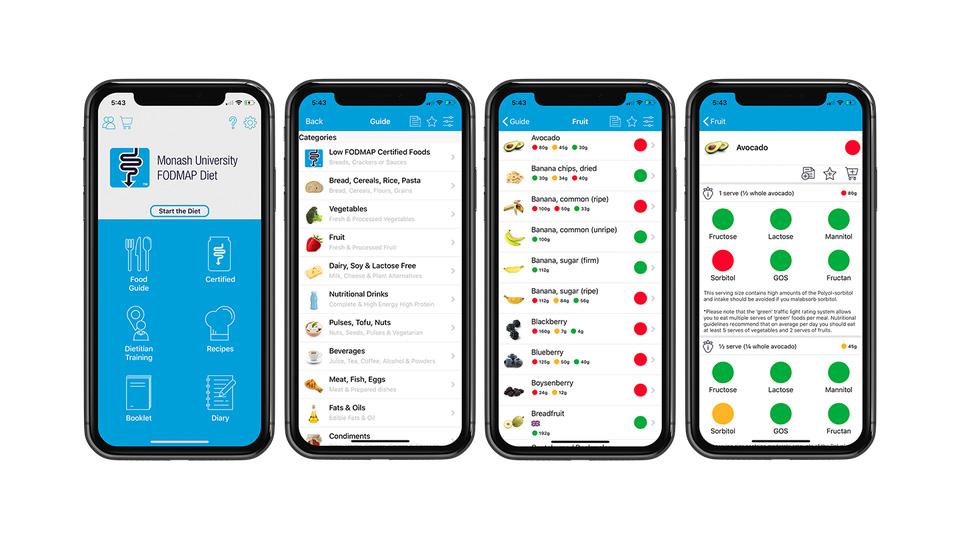 Monash University FODMAP Diet app 960x540