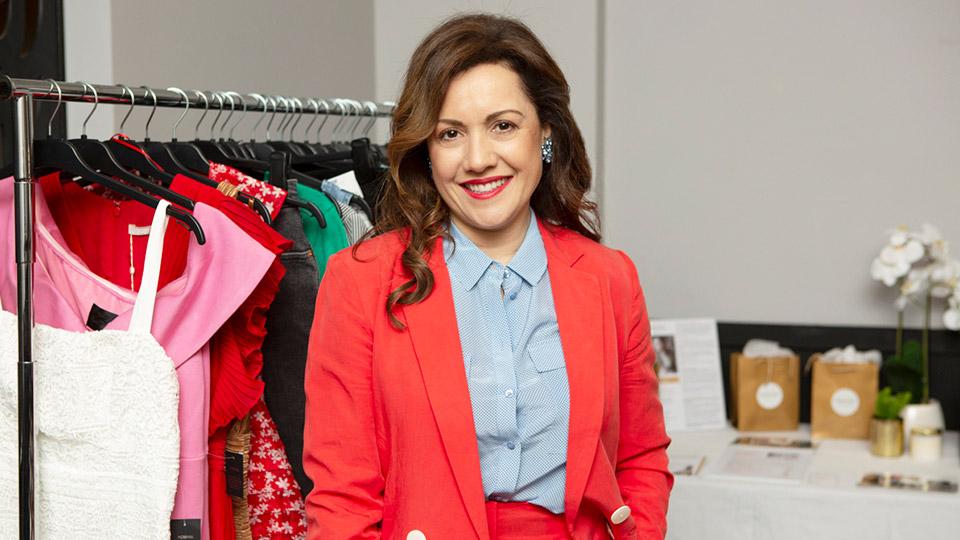 Personal stylist Vicki Doufas of StyleColab