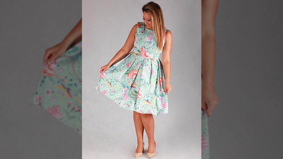 Grande dame dress Andrea Lucy Designs