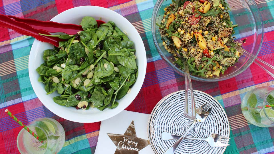Colourful and nutritious festive salads to light up the Christmas table