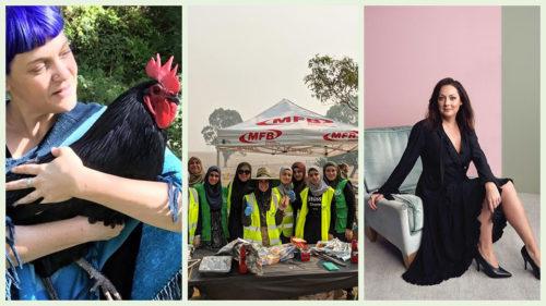 Australia fires: Women unite to help with bushfire relief efforts