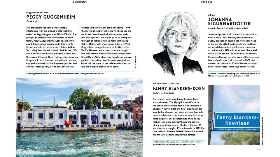 'Alternative travel guide' In Her Footsteps honours trailblazing women