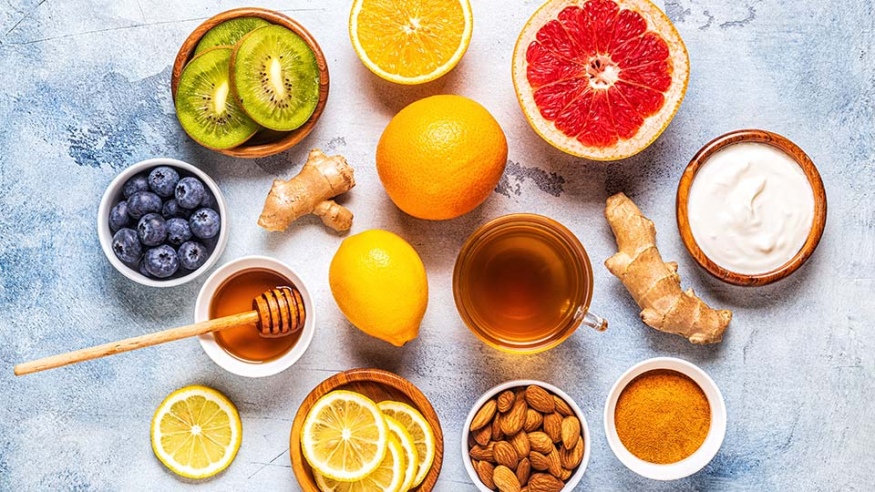Eat these foods to boost your immune system