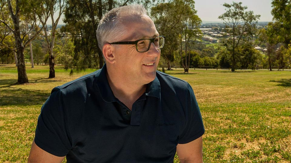 Clinical director and psychotherapist Mark Butler