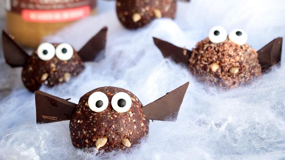 Halloween recipe: batty bliss balls