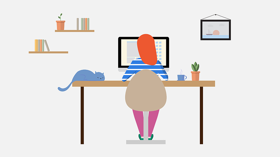 4 simple ways to improve work life balance when working from home