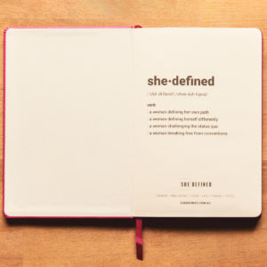 SHE DEFINED definition