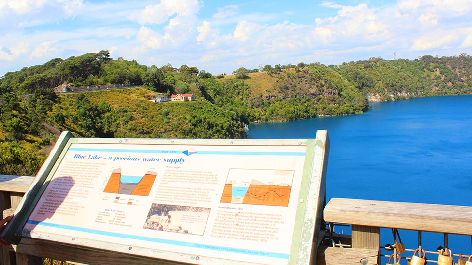 Things to do in Mount Gambier: Blue Lake