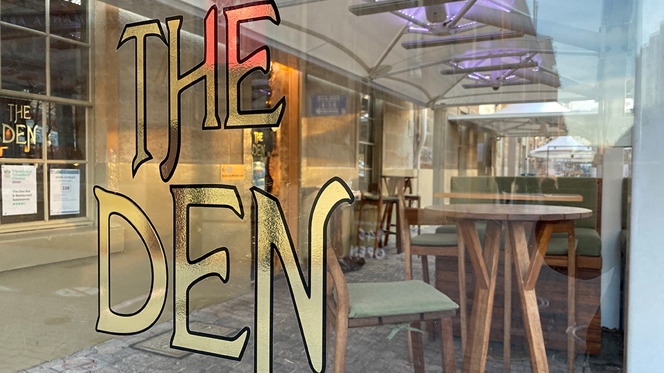 The Den: things to do in Hobart